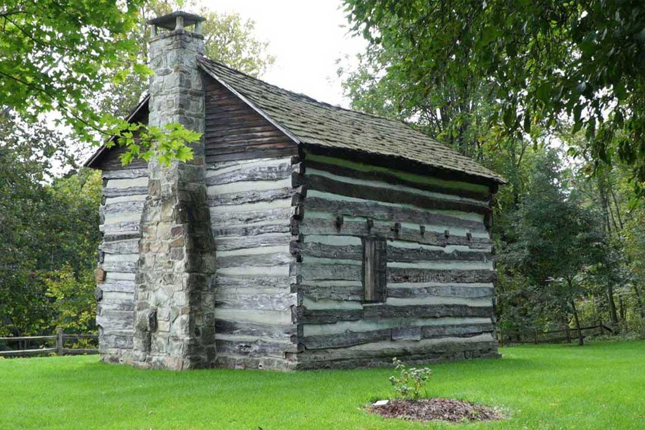 Raisch Log Cabin, Sharpsville, Pa